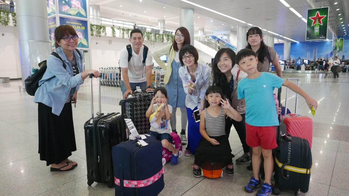越南美奈之旅Day1 奔波的一日,航空體驗Vietjet Air,直奔美奈!