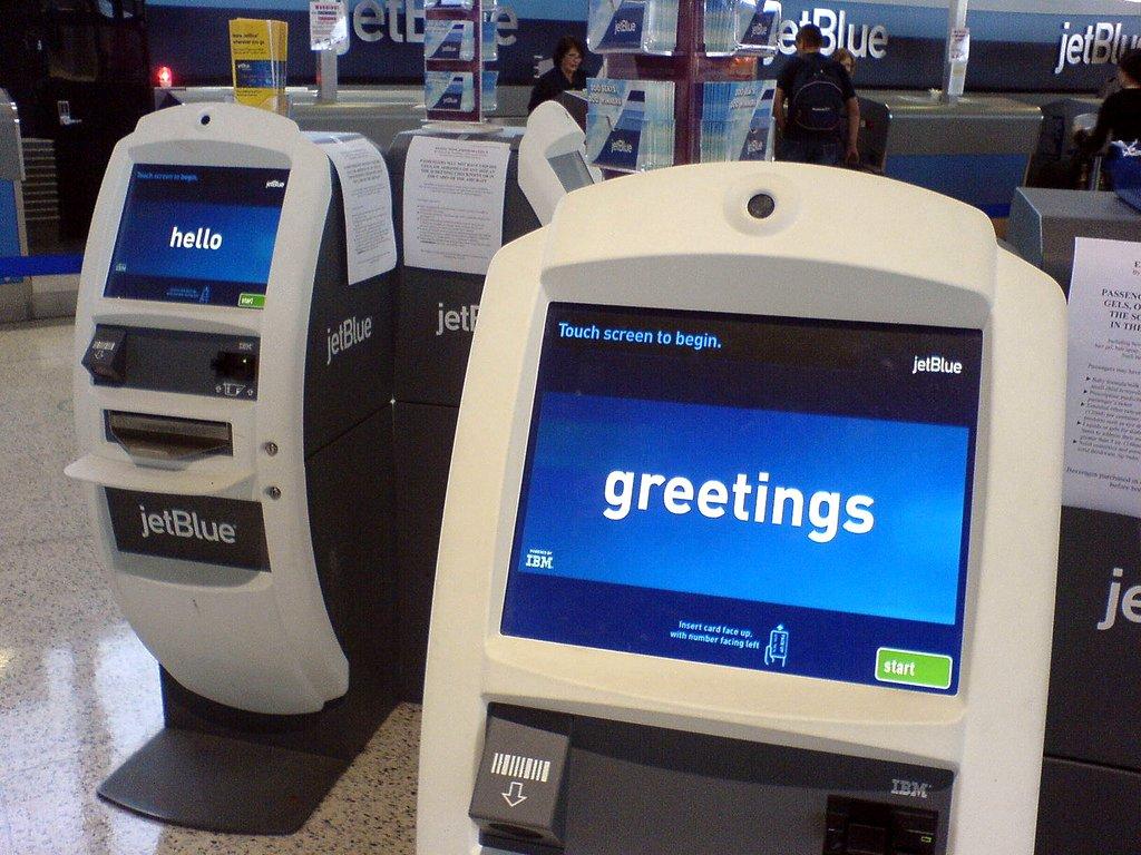 Jetblue airline kiosk flowingdata jetblue airline kiosk m4hsunfo