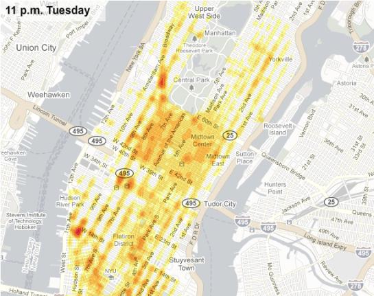 Explorations Of Real World Traffic Flowingdata