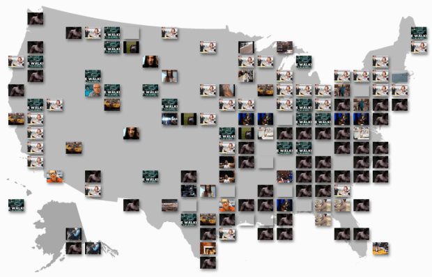 YouTube Trends map shows most popular videos by region | FlowingData