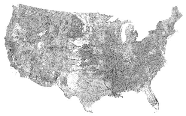 Make Your Own Us Rivers And Roads Maps Flowingdata - Make-your-own-us-map