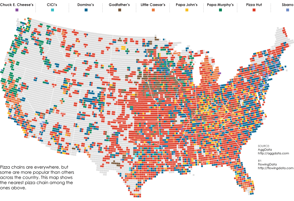 Pizza Place Geography | FlowingData on