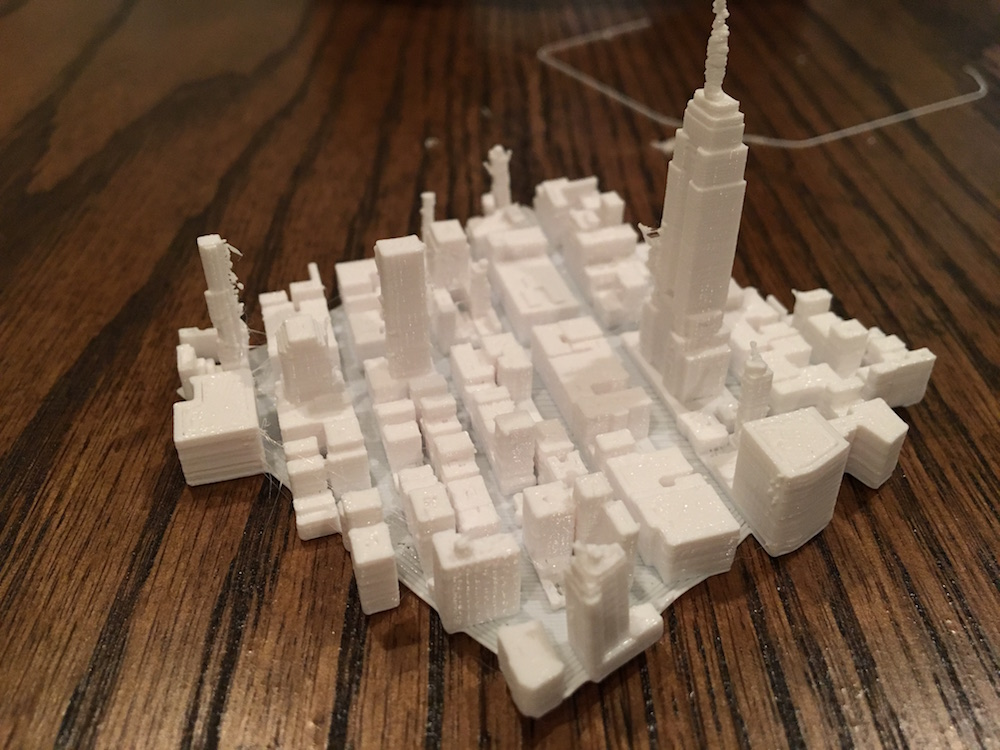 Empire State 3-D print