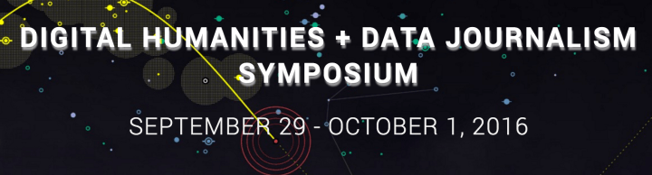 Digital Humanities + Data Journalism Symposium