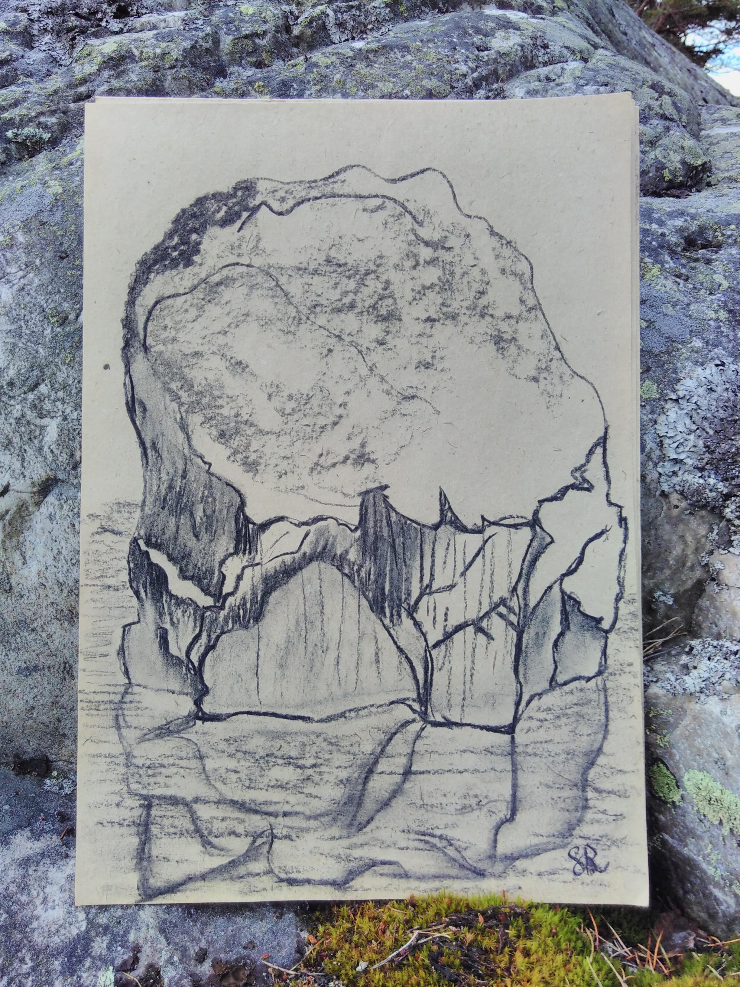 Stone and sea…