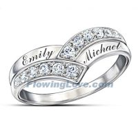 Cheap Promise Rings Engraved Cheap Diamond Promise Rings ...