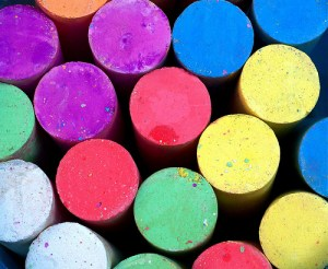 Chalk by Menage a Moi via Flickr