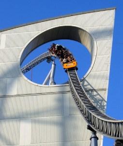 Thunder Dolphin Roller Coaster by Freakazoid via Flickr