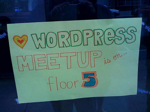 Wordpress Meetup by David Recordon via Flickr