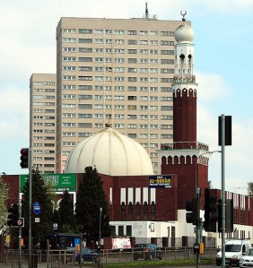 Birmingham Central Mosque by george daley via flickr