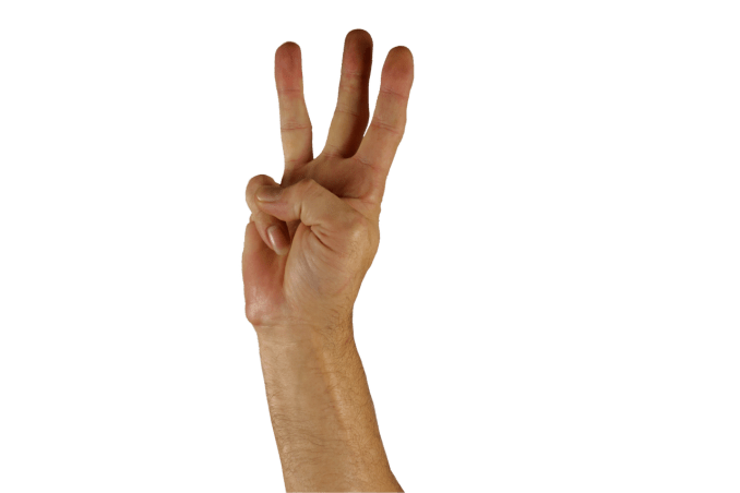 hand-three-fingers