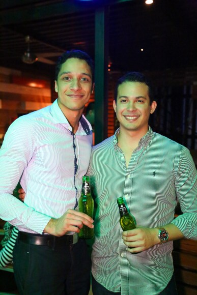 8 Francisco Hernández y Yamel Santana