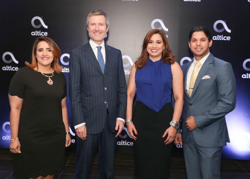 1-Principal Elizabeth Fernandez, Martin Roos, Rosario Veras y Oscar Núñez