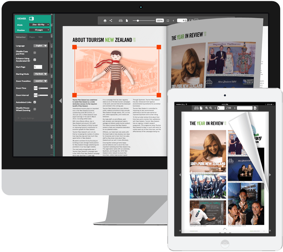FlowPaper Responsive Online PDF Viewer For Your Website