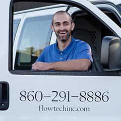 Derek Labbie, Flow Tech Field Service Tech