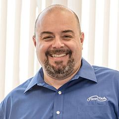 Larry Scola, Flow Tech MA ABB VFD Rep
