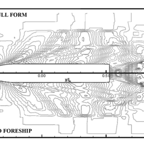 Ship hull form design and optimization based on CFD