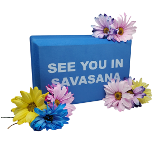 See You in Savasava Yoga Block