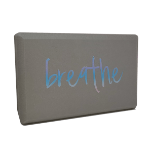 Blue Breathe Yoga Block
