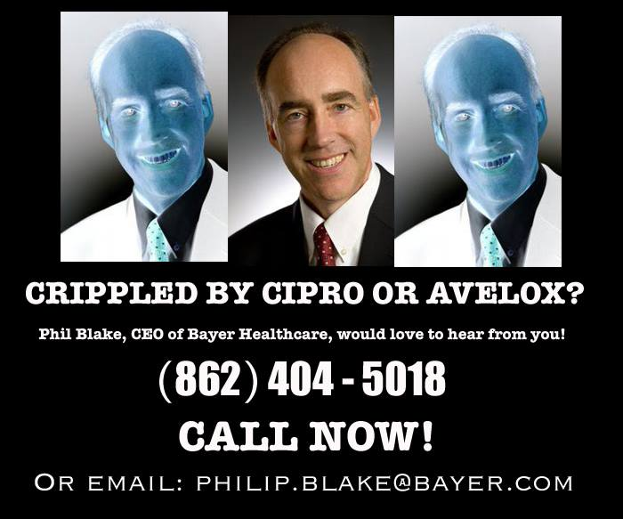 Letter to Phil Blake, CEO of Bayer