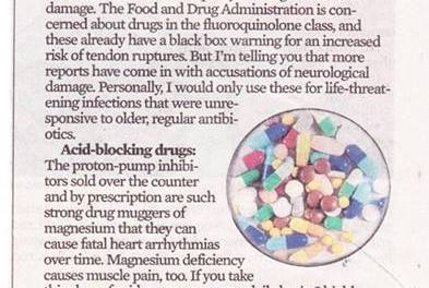 Fluoroquinolone Toxicity Stories in the Media