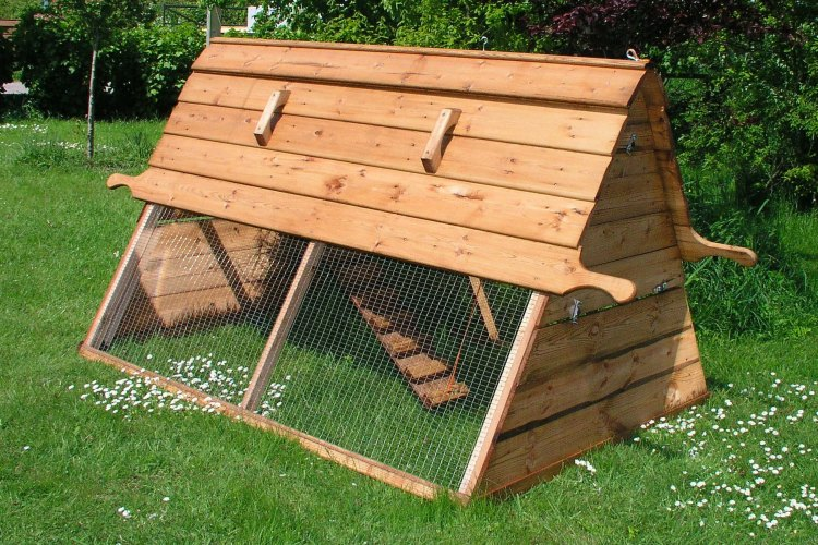 How to build a Chicken Tractor Step-by-step.