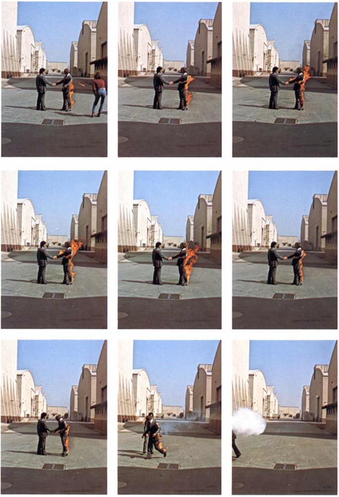 Wish You Were Here Album : album, Story, Behind, Floyd's, Cover, Photo, Floydian, Slip™, Syndicated, Floyd, Radio