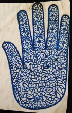 Henna Mehndi Stencil for Left Hand