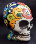 Decorated Skull (side view)