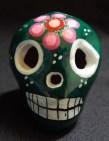 "Decoration for Day of the Dead (to honor ancestors)-Latin America-Aztec/Spanish-Ceramic/glaze-1 1/2"" x 1 1/2"""