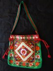 """Carrying objects-India-Indian-Embroidered cloth-14 1/4"""" x 15"""""""