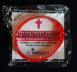 """Brings followers to Jesus-USA-American Christians-Plastic/paper-Diameter 2 1/2"""", width of band 1/2"""""""