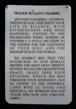 "Blessings and protection-Mexico/Lebanon-Roman Catholic-Lamiinated card-3 1/2"" x 2 1/2"""