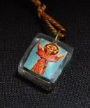 """Worn for protection and blessings. Dedicated to various saints denoted by different colors.-Global-Roman Catholic-Cord/Metal/Plastic-1/2"""""""