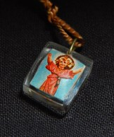 Worn for protection and blessings. Dedicated to various saints denoted by different colors.-Global-Roman Catholic-Cord/Metal/Plastic-1/2""