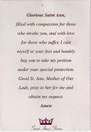 """Protection and blessings-Canada-Catholicism-Paper-5"""" x 3 1/2"""""""