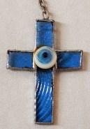Cross with evil eye