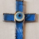 Cross with evil eye