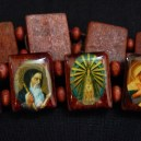 Bracelet with religious images