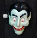 Animated Dracula face