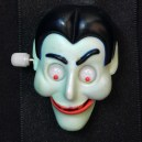 Animated Dracula face