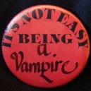 "Pin, ""It's Not Easy Being a Vampire"""