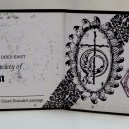 Membership card for the Transylvania Society of Dracula (interior)