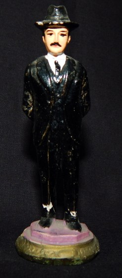 Figurine of San Simón, folk saint of addiction