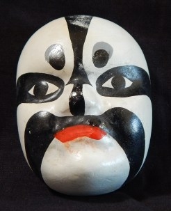 Miniature traditional opera mask