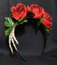 Inspired by Frida Kahlo's hair decorations