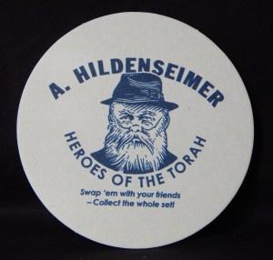 Famous Orthodox Rabbi, A. Hildenseimer