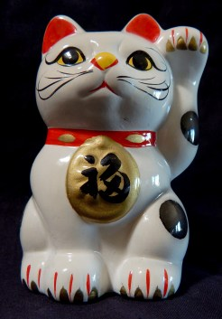 Maneki-Neko or Beckoning Cat