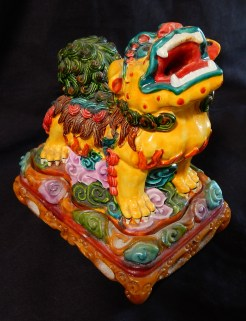 Decorated Lion Incense burner