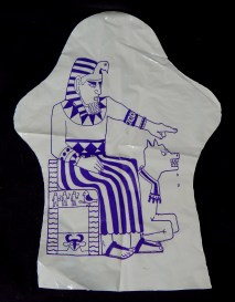 Part of the Plagues Set-Pharaoah casting the Jews out of Egypt